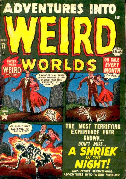 Adventures Into Weird Worlds 14 Cover Image