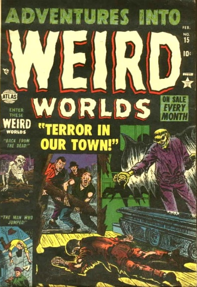 Adventures Into Weird Worlds 15 Cover Image