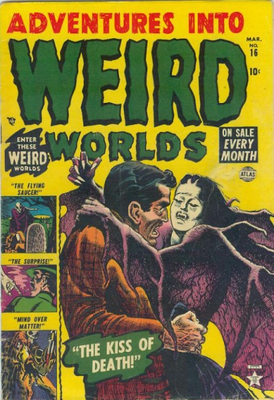Adventures Into Weird Worlds 16 Cover Image