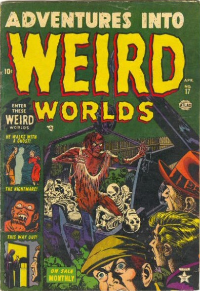 Adventures Into Weird Worlds 17 Cover Image
