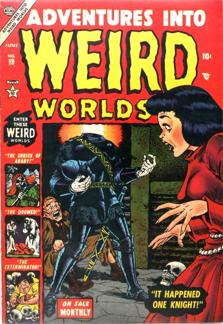 Adventures Into Weird Worlds 19 Cover Image