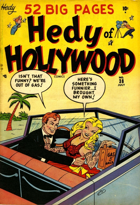 Hedy of Hollywood Comics 38 Cover Image