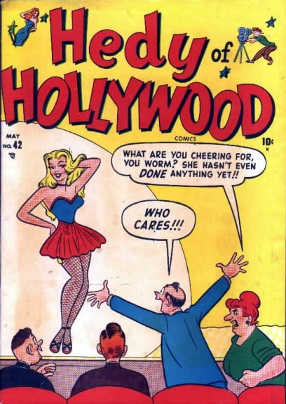 Hedy of Hollywood Comics 42 Cover Image