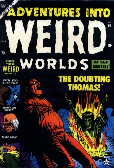 Adventures Into Weird Worlds 20 Cover Image
