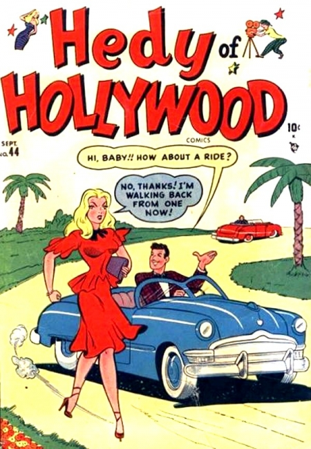 Hedy of Hollywood Comics 44 Cover Image