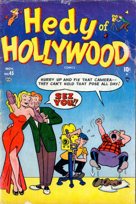 Hedy of Hollywood Comics 45 Cover Image