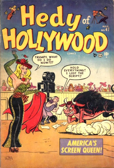 Hedy of Hollywood Comics 47 Cover Image