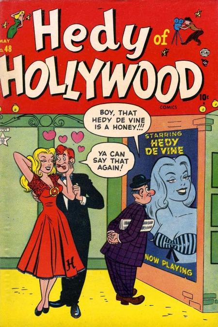 Hedy of Hollywood Comics 48 Cover Image