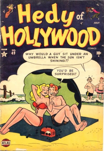 Hedy of Hollywood Comics 49 Cover Image