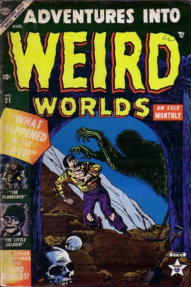 Adventures Into Weird Worlds 21 Cover Image