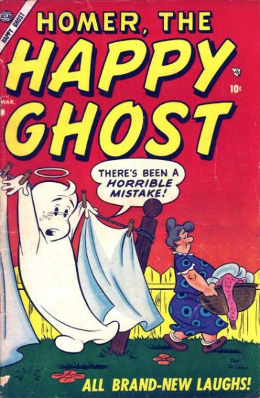 Homer, the Happy Ghost 1 Cover Image