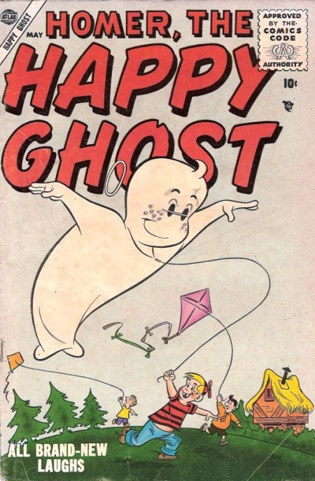 Homer, the Happy Ghost 2 Cover Image