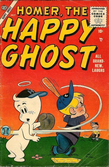 Homer, the Happy Ghost 3 Cover Image