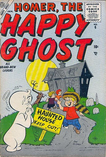 Homer, the Happy Ghost 6 Cover Image