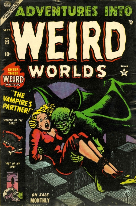 Adventures Into Weird Worlds 22 Cover Image