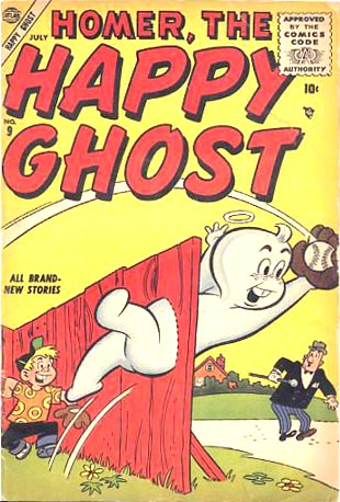 Homer, the Happy Ghost 9 Cover Image