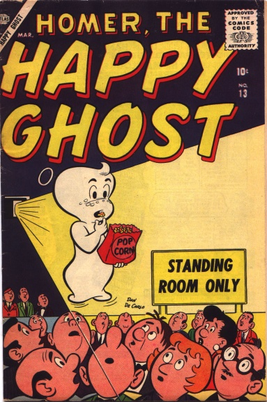 Homer, the Happy Ghost 13 Cover Image