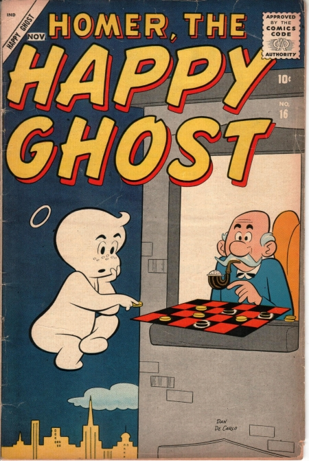 Homer, the Happy Ghost 16 Cover Image