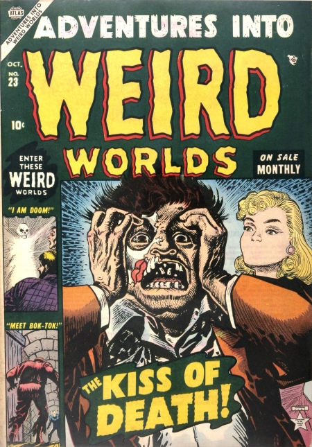Adventures Into Weird Worlds 23 Cover Image