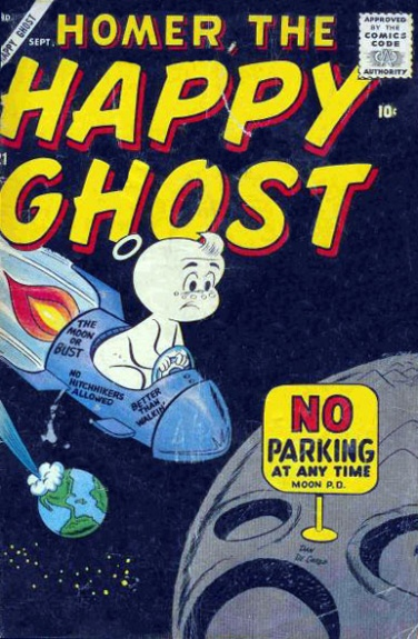 Homer, the Happy Ghost 21 Cover Image