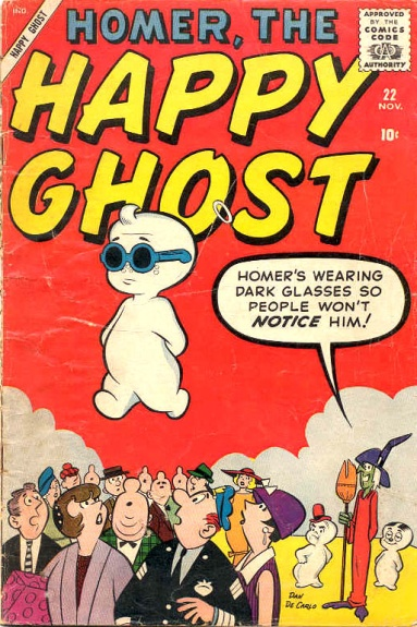 Homer, the Happy Ghost 22 Cover Image