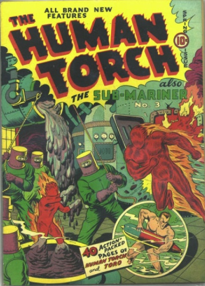 The Human Torch 4(3) Cover Image