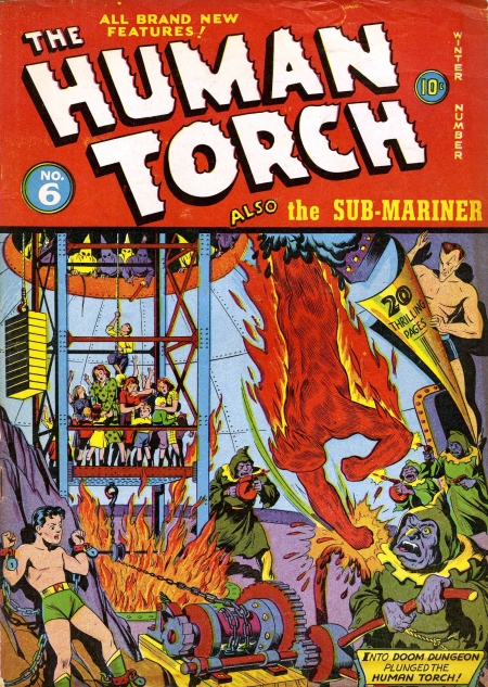 The Human Torch 6 Cover Image