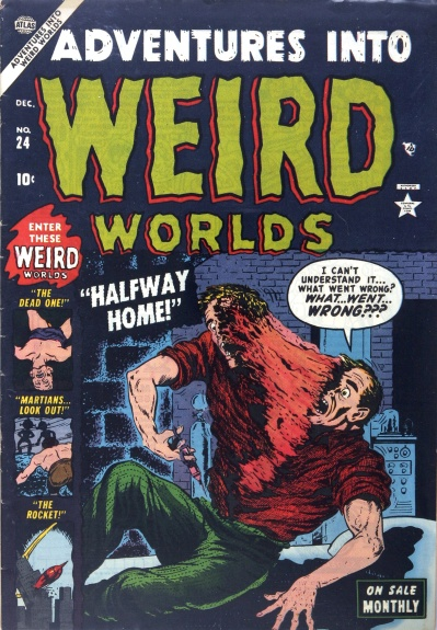 Adventures Into Weird Worlds 24 Cover Image