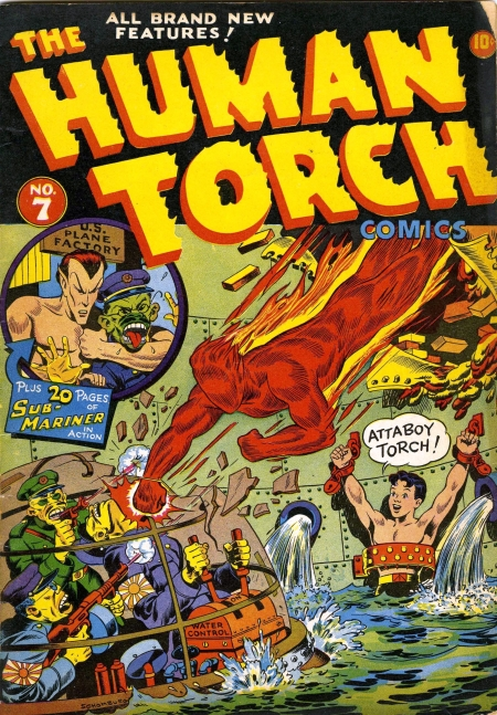 The Human Torch 7 Cover Image
