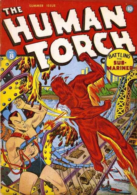The Human Torch 8 Cover Image