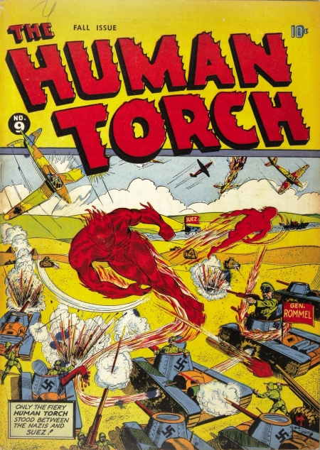 The Human Torch 9 Cover Image