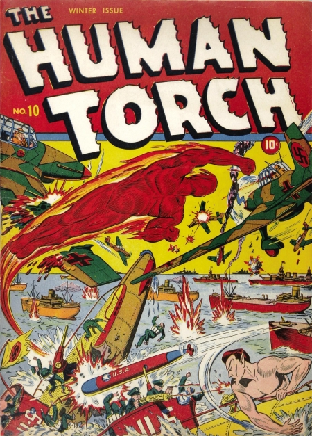 The Human Torch 10 Cover Image