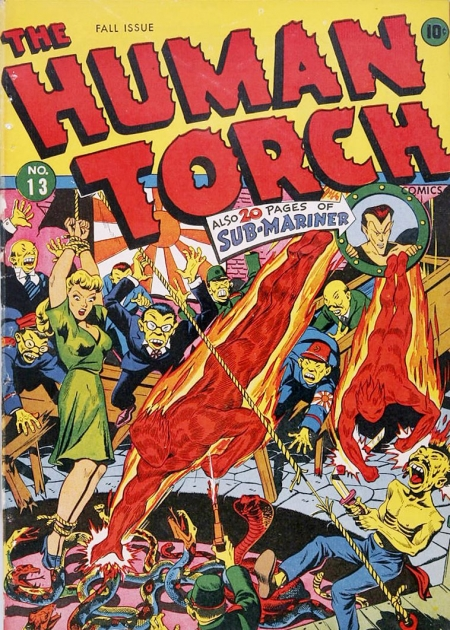 The Human Torch 13 Cover Image