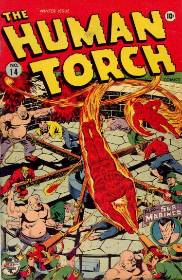 The Human Torch 14 Cover Image