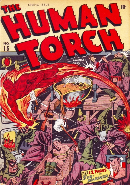 The Human Torch 15 Cover Image