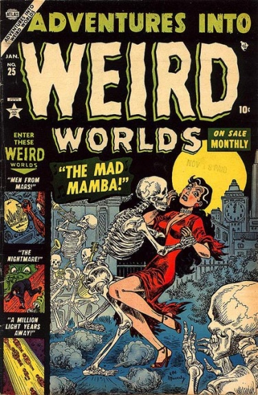 Adventures Into Weird Worlds 25 Cover Image