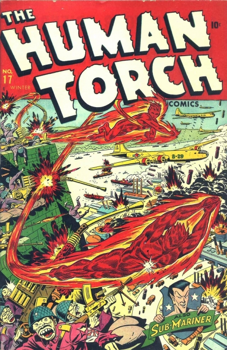 The Human Torch 17 Cover Image