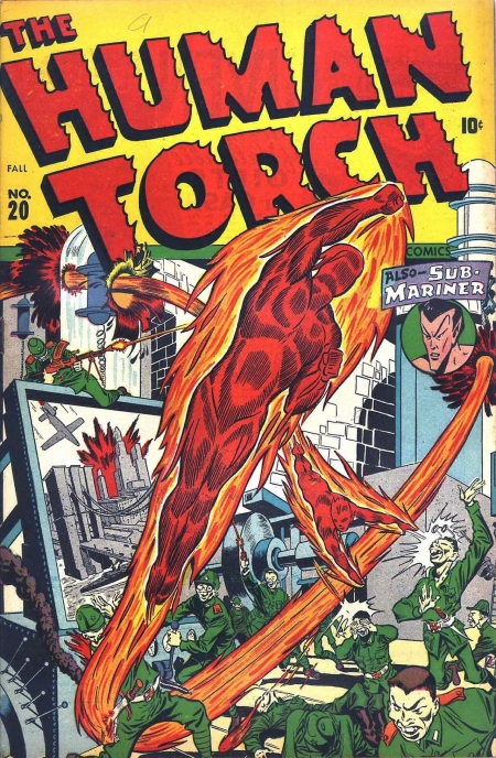 The Human Torch 20 Cover Image