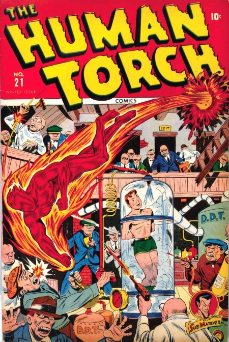 The Human Torch 21 Cover Image