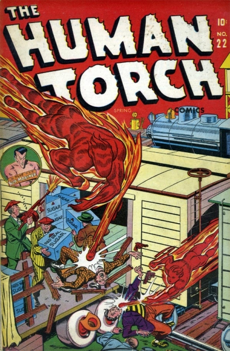 The Human Torch 22 Cover Image