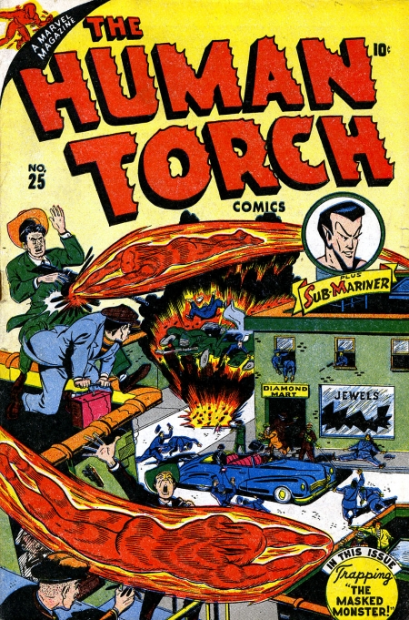 The Human Torch 25 Cover Image