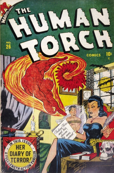 The Human Torch 26 Cover Image