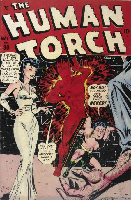 The Human Torch 30 Cover Image