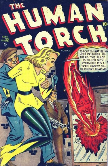 The Human Torch 32 Cover Image