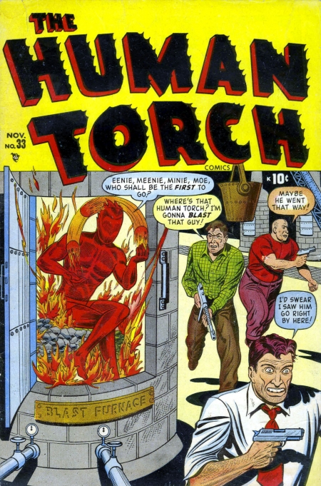 The Human Torch 33 Cover Image