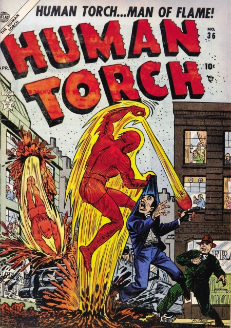 The Human Torch 36 Cover Image