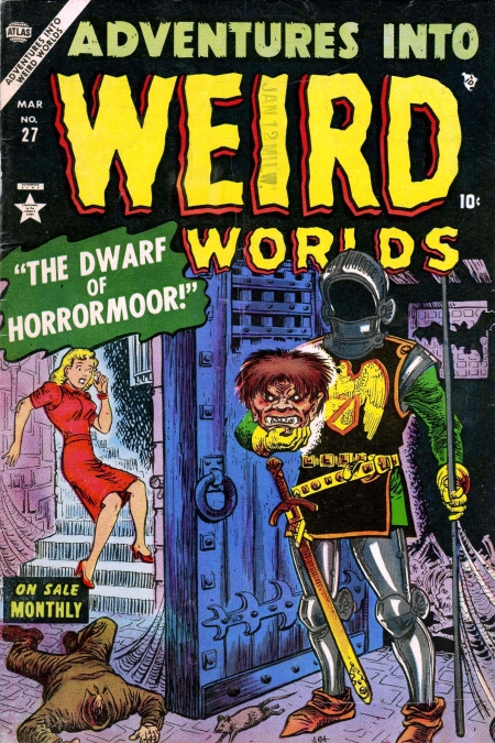 Adventures Into Weird Worlds 27 Cover Image
