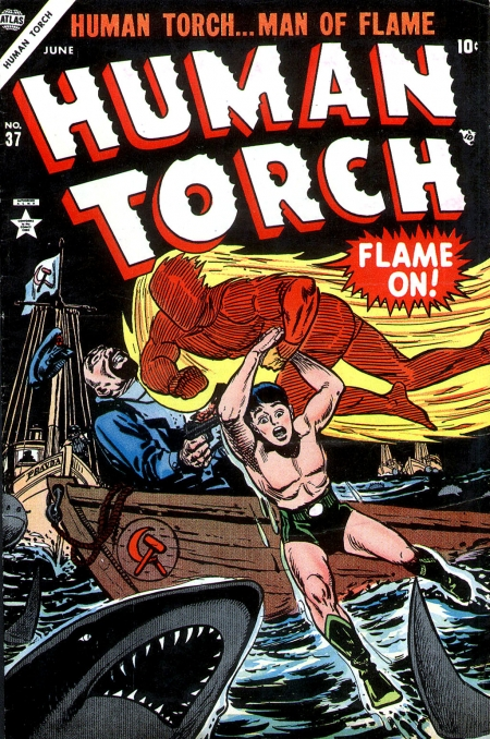 The Human Torch 37 Cover Image