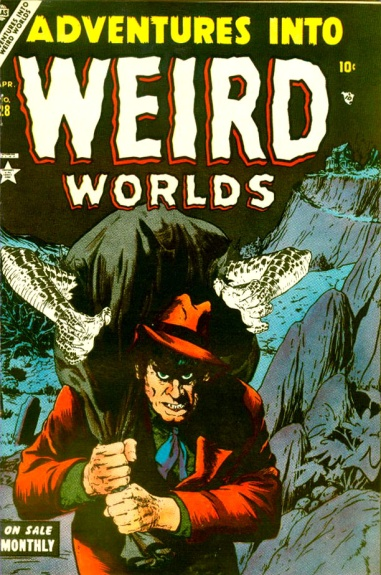 Adventures Into Weird Worlds 28 Cover Image