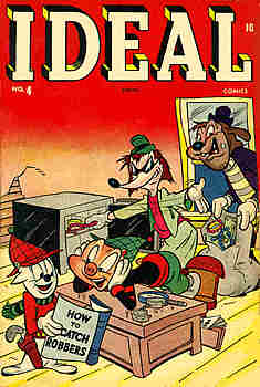 Ideal Comics 4 Cover Image